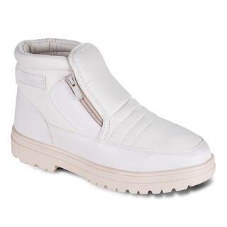 Pantofi caldurosi de iarna culoarea bej