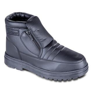 Pantofi caldurosi de iarna culoarea neagra