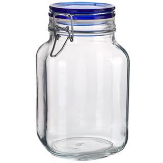 Borcan din sticlă cu închidere clip, 2 l