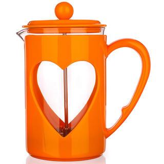 Ibric din sticlă pentru cafea 800 ml Darby, BANQUET portocaliu