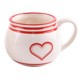 Cană din ceramică KRAJAC Inimă
