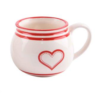 Cană din ceramică  KRAJAC 450 ml Inimă