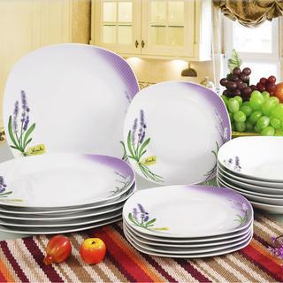 Banquet set farfurii din porţelan LEVANTICA 18 buc