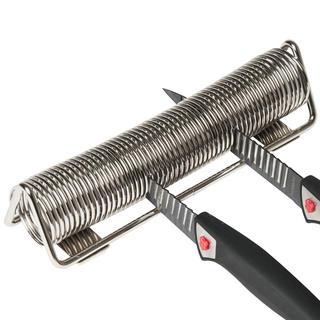 Suport din crom pentru cuțite - arc