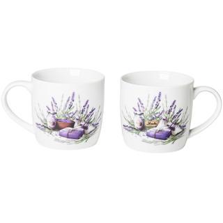 Cești din ceramică 360 ml Lavender, BANQUET