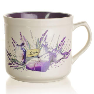 Ceașcă din ceramică BIG 630 ml Lavender, BANQUET