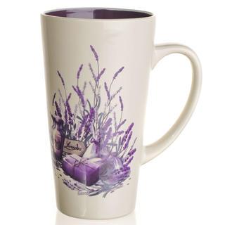 Ceaşcă înaltă din ceramică 450 ml Lavender, BANQUET