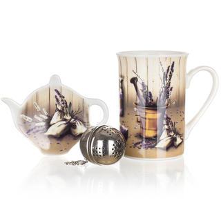 Set de ceai Setul Lavender 3 piese, BANQUET