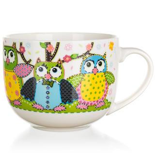Ceașcă jumbo din ceramică OWLS 500 ml
