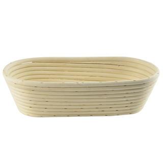 Coşuleţ din ratan pentru prepararea pâinii ovale
