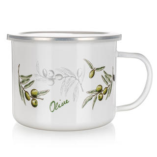 Cană emailată 0,5 l Olives, BANQUET