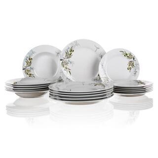 Banquet set farfurii din porţelan OLIVES 18 buc