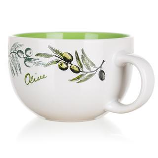 Ceașcă din ceramică jumbo 660 ml Olives, BANQUET