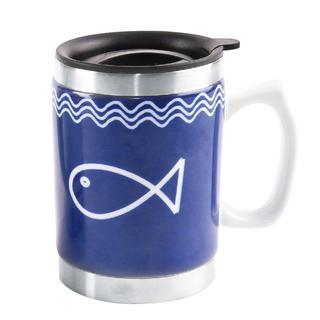 Cană termo 0,4 l Pești