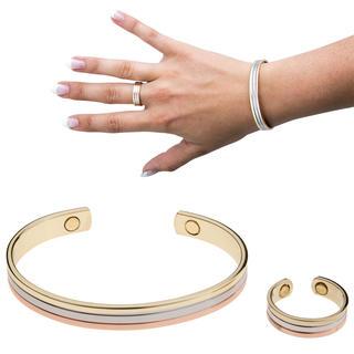 Bratara magnetica cu inel