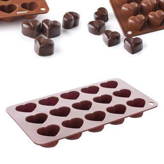 Formă din silicon pentru ciocolată Inimioară, BANQUET