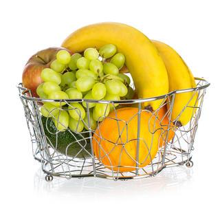 Cos de fructe din sarma Vanity floare, BANQUET