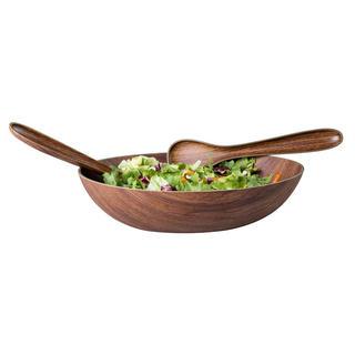 Set salată decor lemn