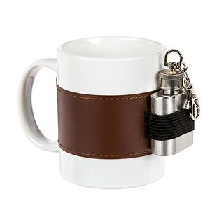 Cană ceramică cu ploscă 250 ml