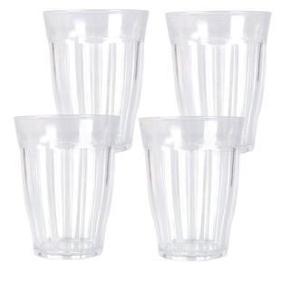 Set pahare plastic 4 buc