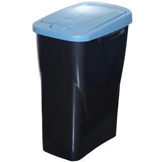 Cos pentru gunoi clasificat, capac albastru 25 l