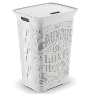 Coș pentru lengerie murdară ELLE Laundry Bag 50 l