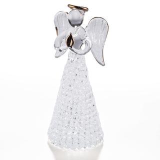 Înger din sticlă 12 cm