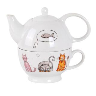 Set de ceai PISICI Tea For One