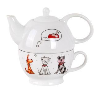 Set de ceai CÂINI Tea For One