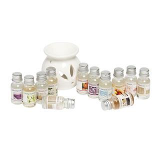 Felinar aromat cu 12 uleiuri mirositoare