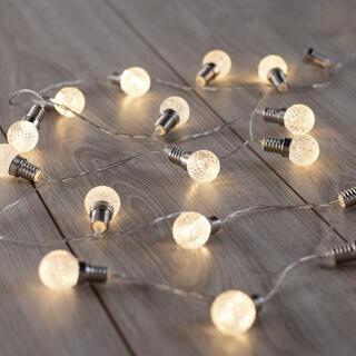 Lanţ luminos cu 20 becuri LED 2,4 m