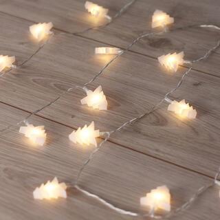 Lanţ luminos cu 20 de brazi LED 2,4 m