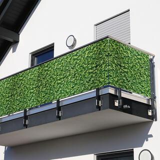 Paravan de balcon FRUNZE VERZI, 85 X 500 cm