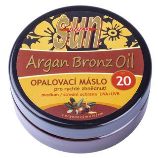 Unt de bronzare cu ulei de argan FPS 20, 200 ml