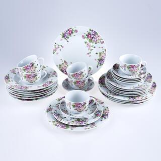 Set servicii de masă din porțelan BEAUTY 30 buc