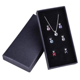 Set de lănţişoare şi 7 pandantive Swarovski Crystal