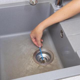 Bețișoare pentru curățarea scurgerii, set 12 buc