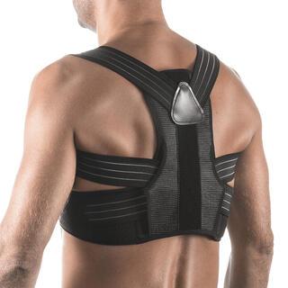 Bandaj reglabil pentru o poziţie corectă a corpului, negru