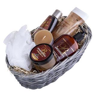 Coş cadou - cosmetice cu ulei de argan