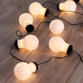 Instalaţie luminoasă cu 10 beculeţe LED, 2,2 m