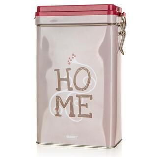 Cutie metalică HOME 11,7 x 7 x 19,8 cm, cu închidere ermetică