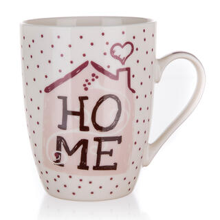 Cană ceramică HOME 340 ml