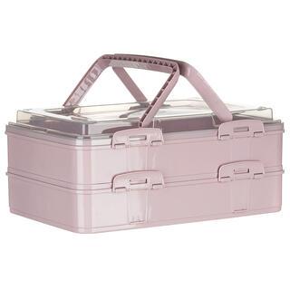 Party box cu două etaje, roz