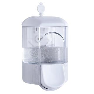 Dispenser transparent de săpun lichid