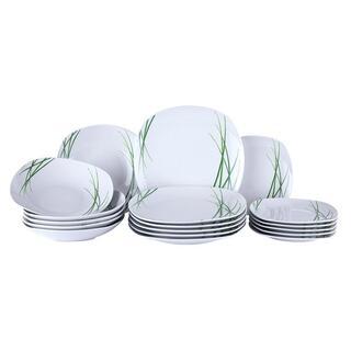 Set de masă din porţelan DELIA, 18 piese