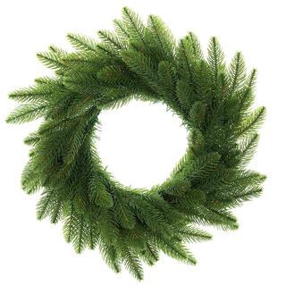 Coroniţă de Crăciun artificială cu brad, diam. 50 cm