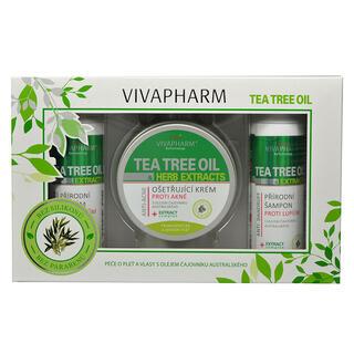 Casetă cadou cosmetice cu ulei din arbore de ceai