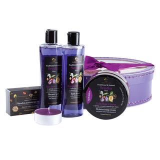 Set de cosmetice în cutie cadou PRUNĂ