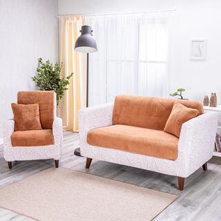 Cuverturi pentru canapea culoarea alunei