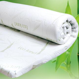 Saltea de protecţie cu spumă cu memorie BAMBOO Comfort 90 x 190 x 4 cm